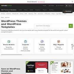 Premium Responsive WordPress Themes - ThemeForest