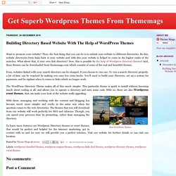Get Superb Wordpress Themes From Thememags