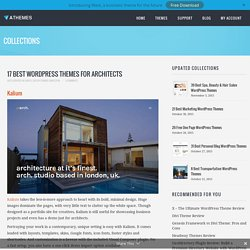 10+ Best WordPress Themes for Architects 2014