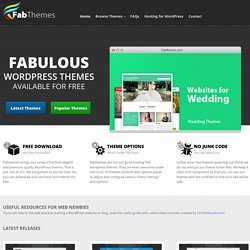 Free WordPress Themes | FabThemes