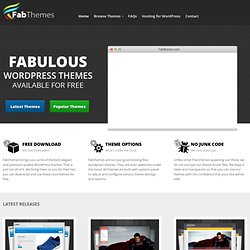Free WordPress Themes | FabThemes - Part 3