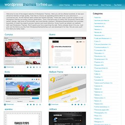 Wordpress Themes | Free Wordpress Themes | Wordpress Templates |