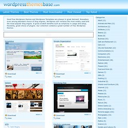 Free Wordpress Themes | Best Wordpress Themes | Free Wordpress T