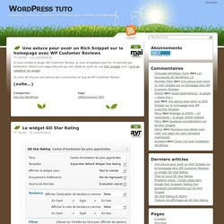 WordPress tuto : tout sur WordPress