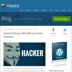 How to Secure WordPress From Hackers