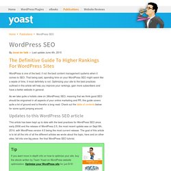 WordPress SEO Tutorial - The Definitive Guide