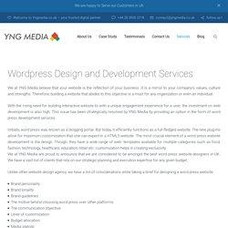 Wordpress Web Design Services In UK - YNG Media