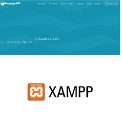 How to Create a Local WordPress Website in Windows with Xampp