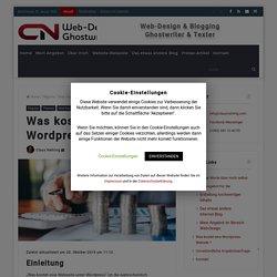Was kostet eine Wordpress-Website ? – CN Content, Websites & Blog