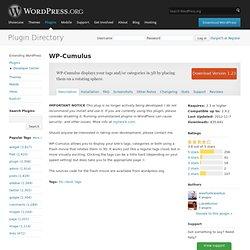 WP-Cumulus