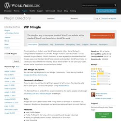 WP Mingle