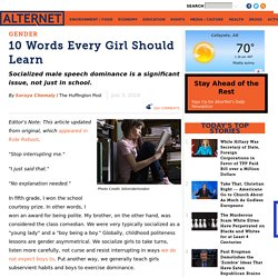 10 Words Every Girl Should Learn
