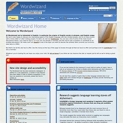 Wordwizard Home