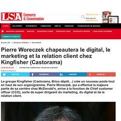 Pierre Woreczek chapeautera le digital, le...
