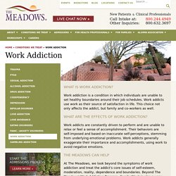 Work Addiction Treatment