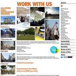 Work With Us AHMM - ALLFORD HALL MONAGHAN MORRIS