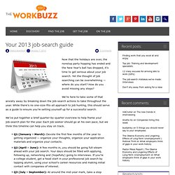 Your 2013 job-search guide