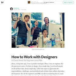How to Work with Designers