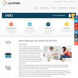 Work Style and Top Careers for the INFJ