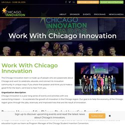Work With Us - Chicago Innovation