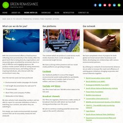 Work With Us – Green Renaissance