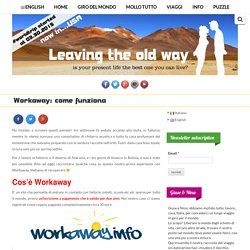 Workaway: come funziona - Leaving the Old Way