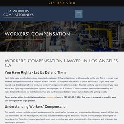 Workers' Comp Claims in Los Angeles