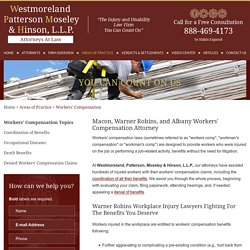GA Workers Compensation Lawyer at Westmoreland, Patterson, Moseley & Hinson, L.L.P.