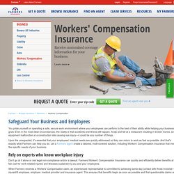 PPO: Workers Compensation (Workers Comp) Insurance