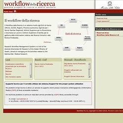 Workflow ricerca: Workflow della ricerca