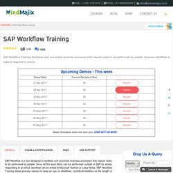 Live SAP Workflow Training Classes by Workflow Experts