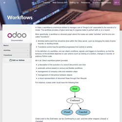 Workflows — odoo 8.0 documentation