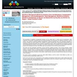 Workforce Management Market by Solution & Service