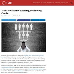 What Workforce Planning Technology Can Do
