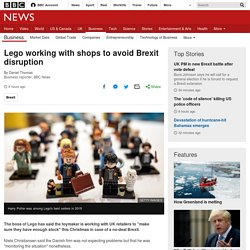Lego working with shops to avoid Brexit disruption