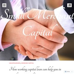 How working capital loan can help you in your business growth?