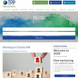 Working in Charity HR