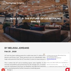 Why IoT is the Future of Co-Working Spaces
