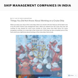 Westline Shipping - The Best Ship Crew Management Company