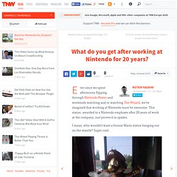 What do you get after working at Nintendo for 20 years? - Shareables