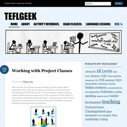 Working with Project Classes