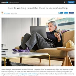 New to Working Remotely? These Resources Can Help