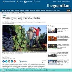 Working your way round Australia