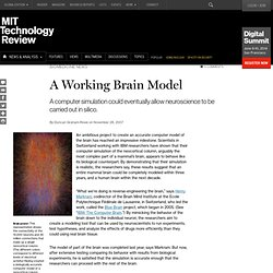 A Working Brain Model - Page 2
