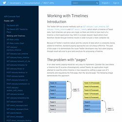 Working with Timelines
