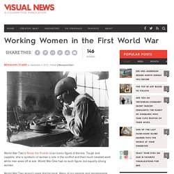 Working Women in the First World War