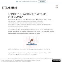 About The Workout Apparel for Women