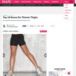 Thigh Workout Details - Top 10 Moves for Thinner Thighs