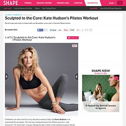 Kate Hudson Workout: 4 Pilates Excercises for Flat Abs and a Tight Butt - Shape Magazine