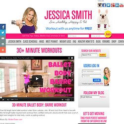 Ballet Body 25-Minute Barre Workout Ballet Exercises to keep you in Fit Shape Jessica Smith Personal Trainer Fitness Expert